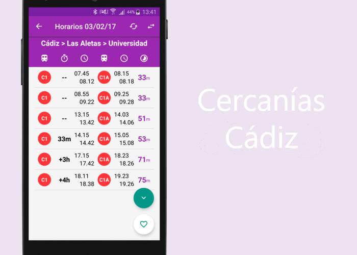 Cercanías Cádiz